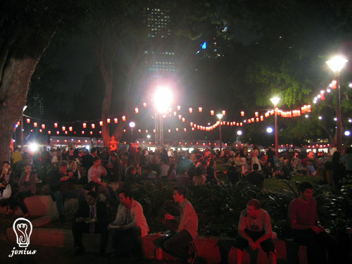 Night Noodle Markets 2006 at Hyde Park