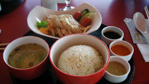 The best Hainanese chicken rice in Singapore