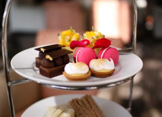 Afternoon Tea at Shangri-La Hotel Sydney