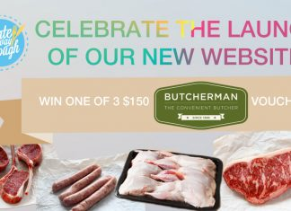 Win one of 3 $150 Butcherman vouchers with I Ate My Way Through