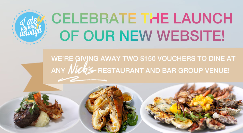 Win one of two $150 dining vouchers with Nick's Restaurant and Bar Group
