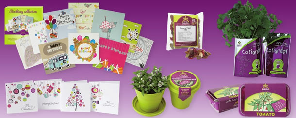 Living Fundraisers product range