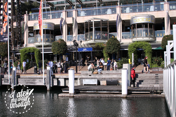 Darling Harbour, Cockle Bay Wharf, Nick's Seafood