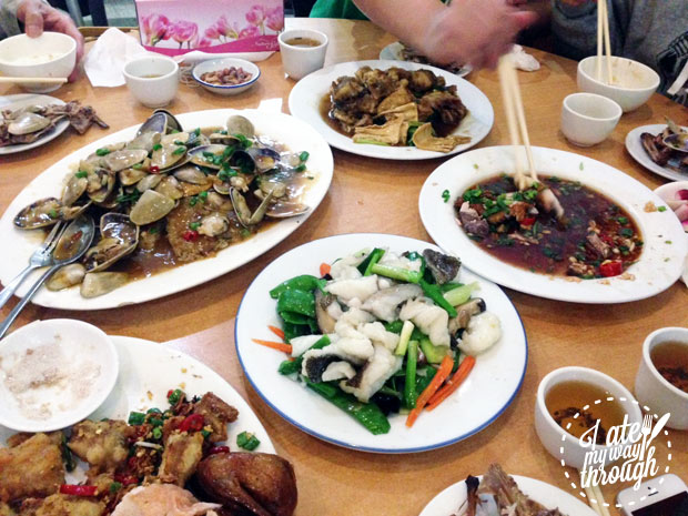 Chinese feast at Yong Feng Chinese restaurant Riverwood