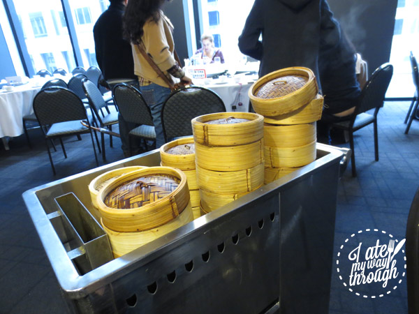 Yum cha trolley at Sky Phoenix