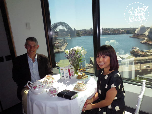 Jennifer Lam, founding editor of I Ate My Way Through with Stephen Twining of Twinings