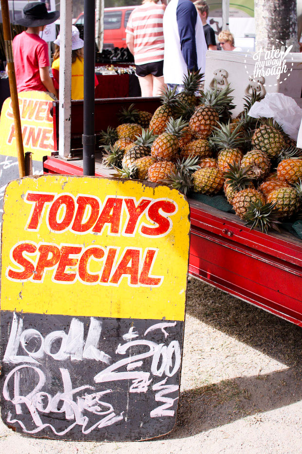 Pineapples, Airlie Beach Markets