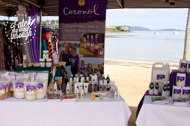 Coconut products, Airlie Beach Markets