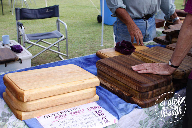Chopping boards, Airlie Beach Markets