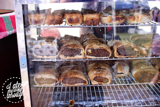 Jenny's sausage rolls, Airlie Beach Markets