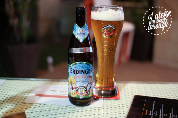 Limited edition Oktoberfest beer, Denman Cellars Beer Cafe, Airlie Beach