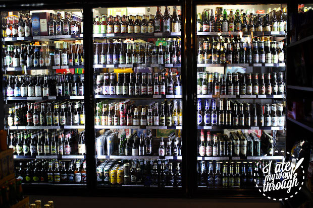 Over 1000 beers, Denman Cellars Beer Cafe, Airlie Beach