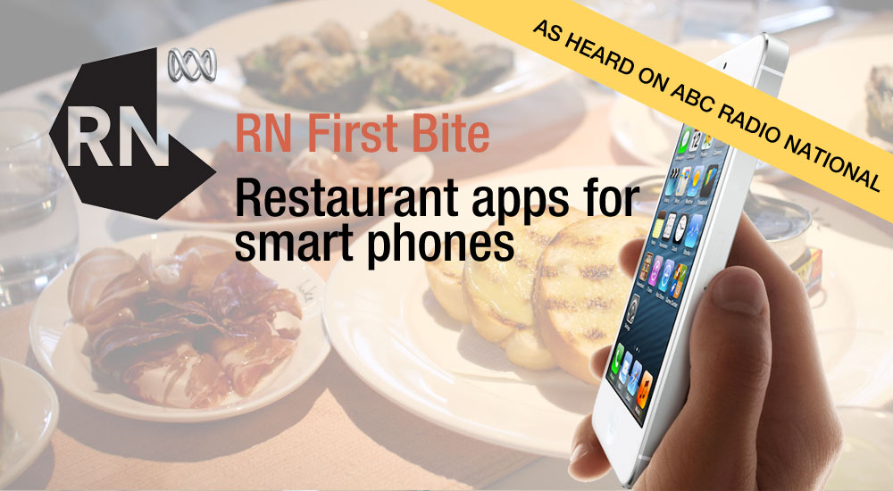 Restaurant apps for smart phones, RN First Bite with Jennifer Lam from I Ate My Way Through