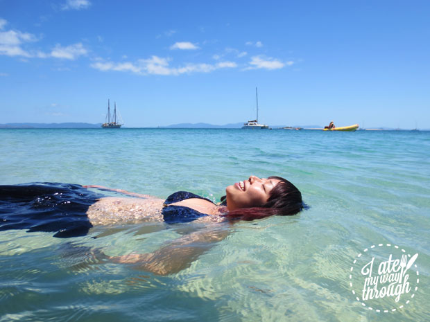 Crystal clear water, pristine snorkelling, Whitsundays