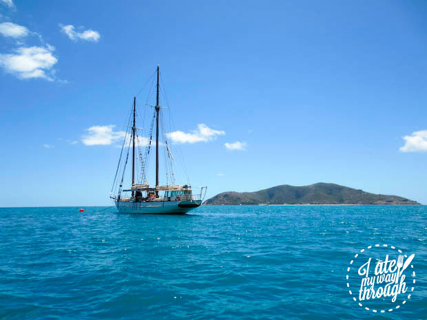 Derwent Hunter at Langford Reef, Whitsundays