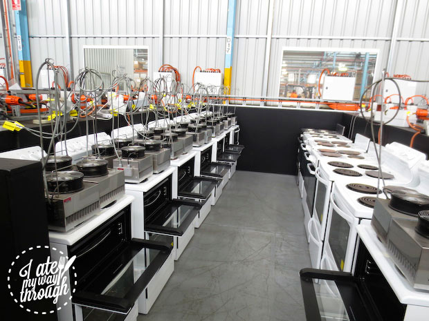 Electrolux Cooking Manufacturing Plant Adelaide tour - life test