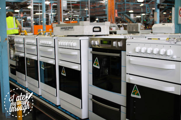 Electrolux Cooking Manufacturing Plant Adelaide tour - assembly