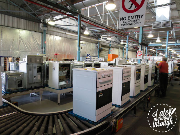 Electrolux Cooking Manufacturing Plant Adelaide tour - sub assembly