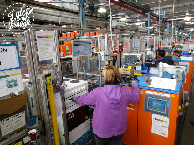 Electrolux Cooking Manufacturing Plant Adelaide tour - testing