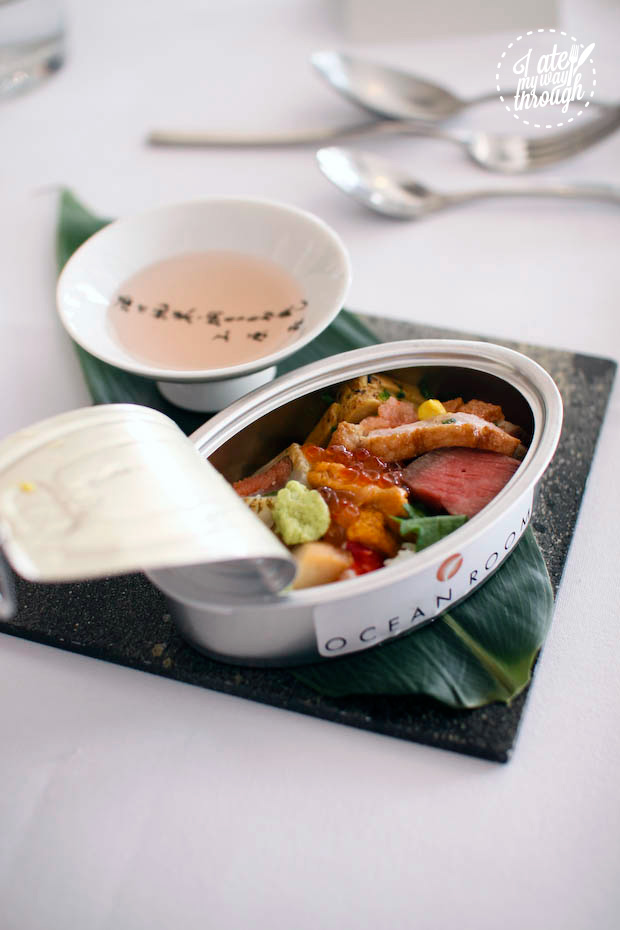 Essence of Tokyo, Tokyo Lunch promotion at Ocean Room restaurant, Sydney