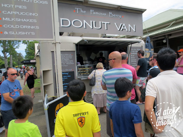 The Famous Berry Donut Van