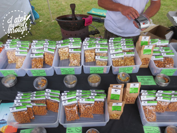 Batemans Bay foreshore market - nuts