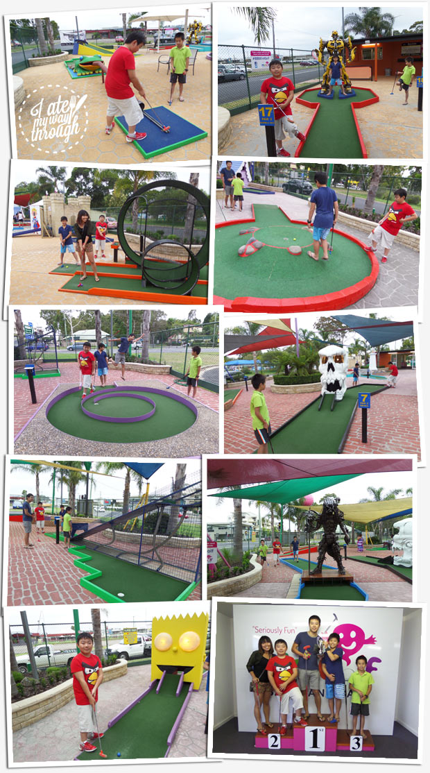 Things to do with kids, family, Batemans Bay mini golf