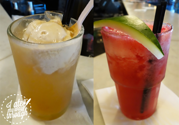 cocktails, root beer, watermelon