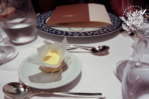 Butter on Holland America Line Pinnacle Grill