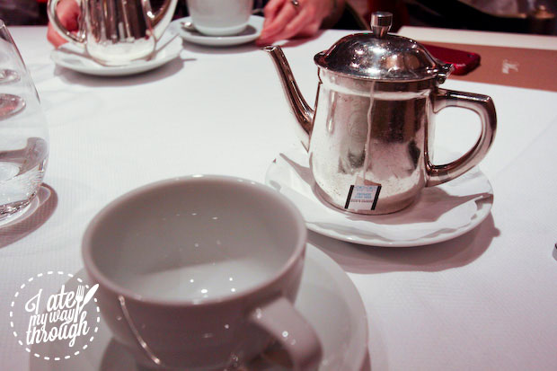 Tea at Pinnacle Grill, Holland America Line