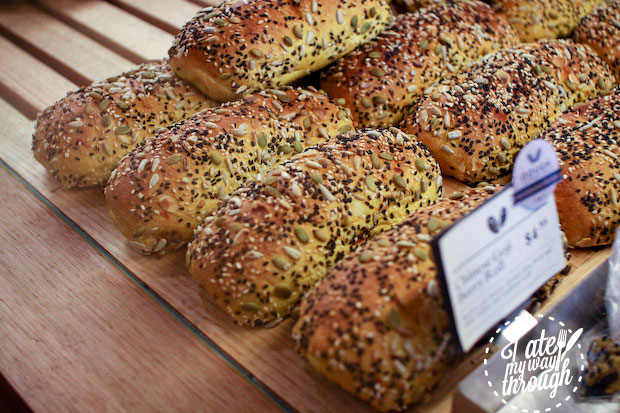 Chinese goji berry roll, The Dough Collective