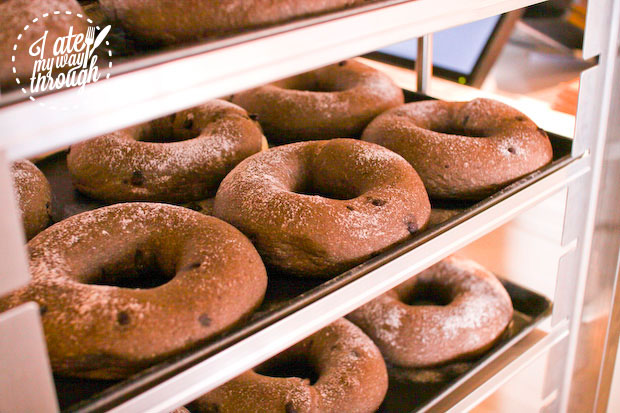 Sweet n Savoury Ring: cocoa, belgium chocolate chips, cream cheese and sweet kidney beans