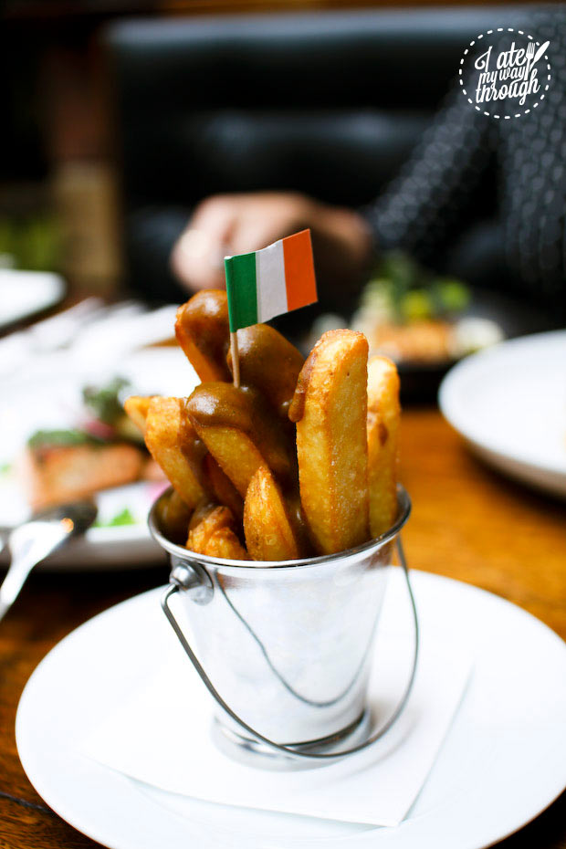 Mini chips with Irish curry sauce- Cat and Fiddle Hotel, Balmain