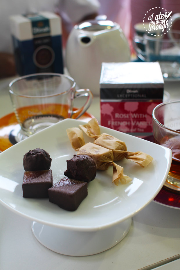 Dilmah, real high tea challenge, sweets, truffles