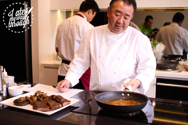 Tetsuya cooking steak the easy way out