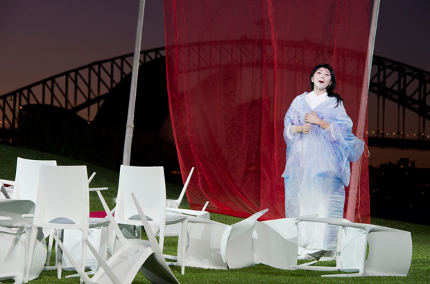 Handa's Opera Madama Butterfly, Platinum Club Dining