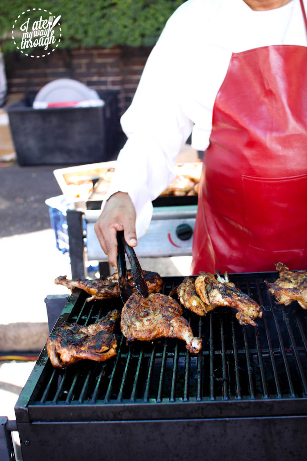 Chargrilled chicken - Bairros Portugues Petersham Festival 2014