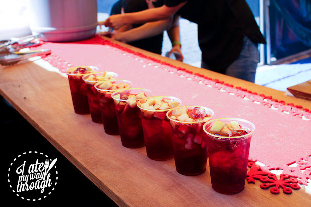 Line of sangria - Bairros Portugues Petersham Festival 2014