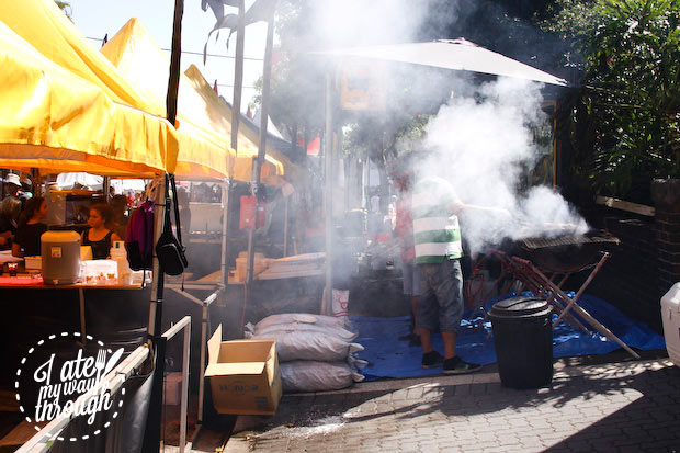 Smoky BBQ - Bairros Portugues Petersham Festival 2014