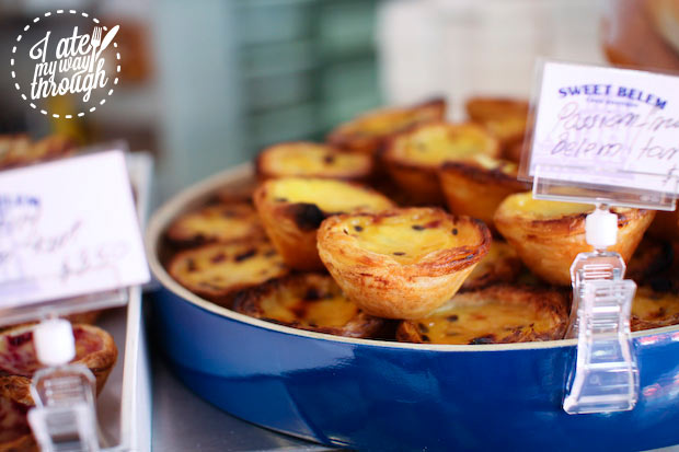 Portuguese passionfruit tarts from Sweet Belem