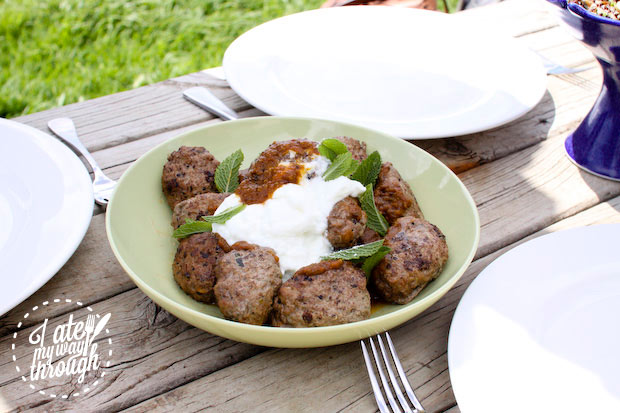 Lamb kofta cooked by Kangaroo Island Source Kate Sumner