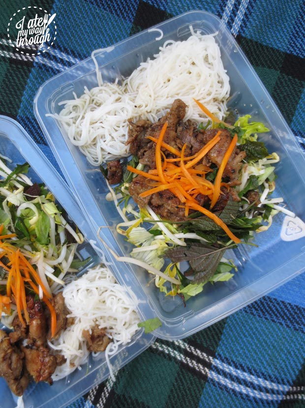 Bun thit nuong - VoviCare ganh hang tinh thuong Vietnamese charity lunch