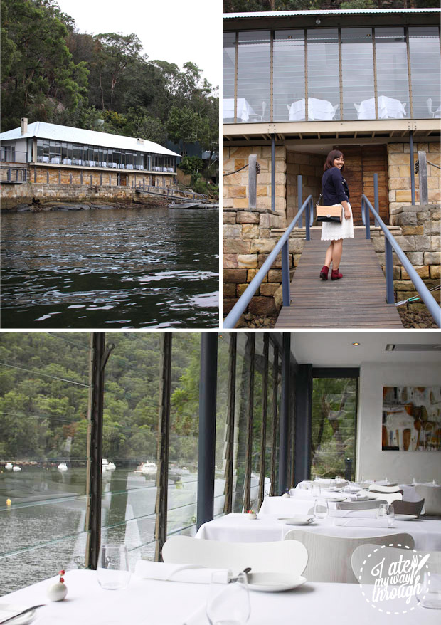 entrance to Berowra Waters Inn