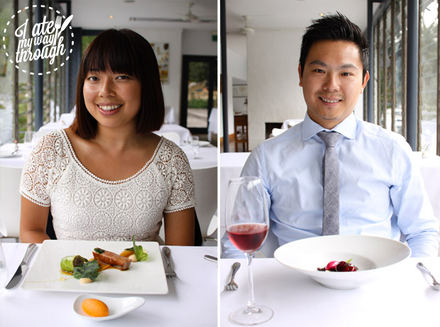 Jennifer Lam and Zen Huang at Berowra Waters Inn