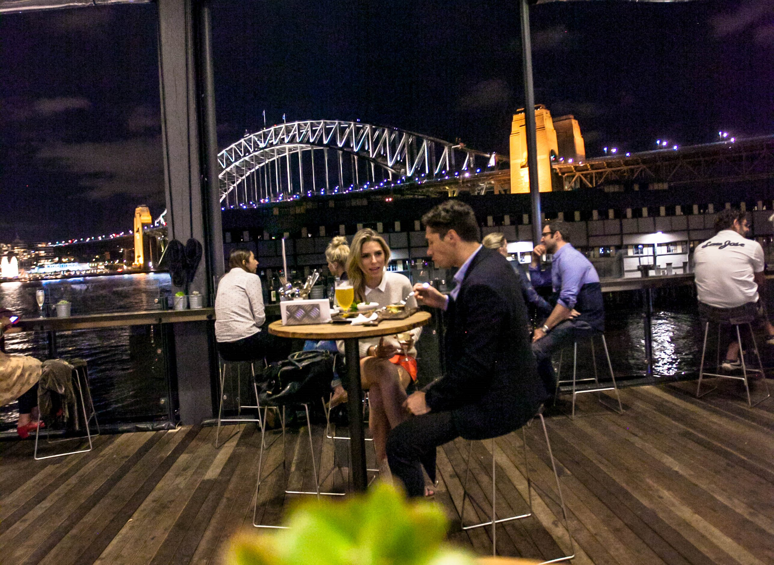 Vivid Festival, The Theatre Bar at the End of the Wharf