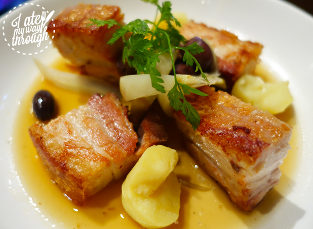 pork belly, potatoes, fennel, pork