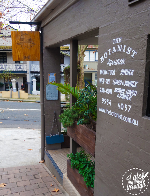 the botanist; kirribilli