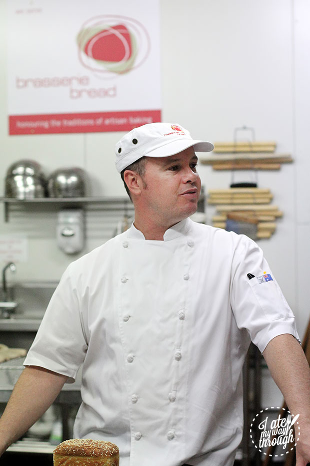 Chef Matthew Brock, our trainer for the evening