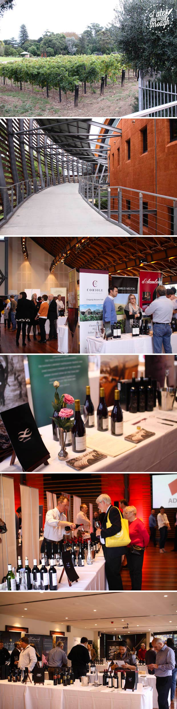 Langton's classification of Australian wine VI tasting event at Tasting Australia 2014