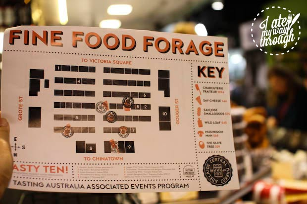 Fine food forage at Adelaide Central Market